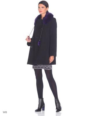 Пальто Fart Favorita. Цвет: черный, сливовый