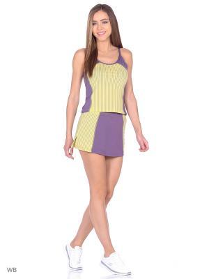 Спортивный костюм для тенниса Bars. Цвет: зеленый