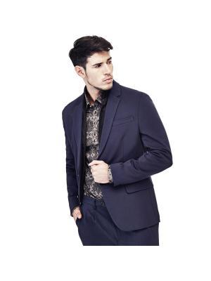 Пиджак GUESS. Цвет: светло-голубой