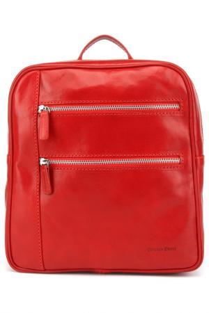 Рюкзак Bruno Perri. Цвет: красный