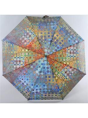 Зонт Zest. Цвет: бирюзовый,серый,голубой
