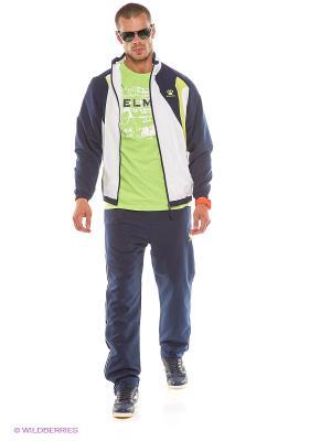 Спортивный костюм KELME. Цвет: темно-синий, белый
