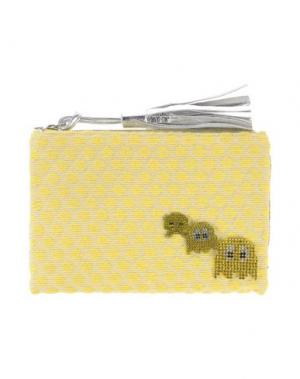 Сумка на руку LISA C BIJOUX. Цвет: желтый