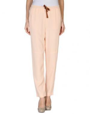 Повседневные брюки MAURO GRIFONI. Цвет: светло-розовый