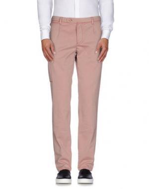 Повседневные брюки PIATTO. Цвет: телесный