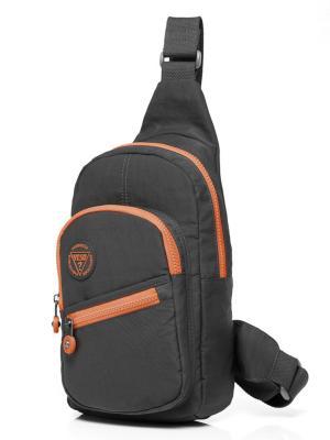 Рюкзак однолямочный Yeso (Outmaster). Цвет: темно-серый