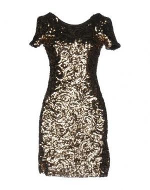 Короткое платье DRY LAKE.. Цвет: платиновый