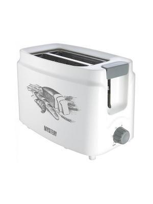 Тостер Mystery MET-2101 800Вт белый. Цвет: белый