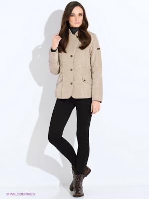 Куртка Finn Flare. Цвет: кремовый
