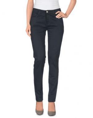 Повседневные брюки MONKEE GENES. Цвет: свинцово-серый