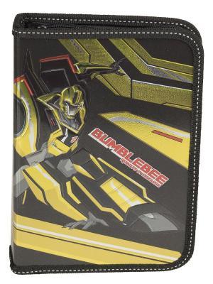 Пенал жесткий ламинированный.Transformers Transformers Prime. Цвет: желтый, красный, черный