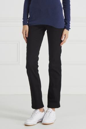 Джинсы с широким поясом Pepe Jeans. Цвет: черный