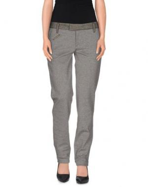 Повседневные брюки NOLITA. Цвет: серый