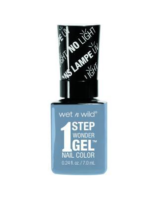 Гель-лак для ногтей 1 Step Wonder Gel E7291 peri-wink-le of an eye Wet n Wild. Цвет: голубой
