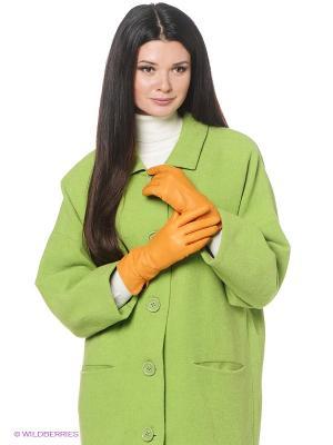 Перчатки женские Piero. Цвет: желтый