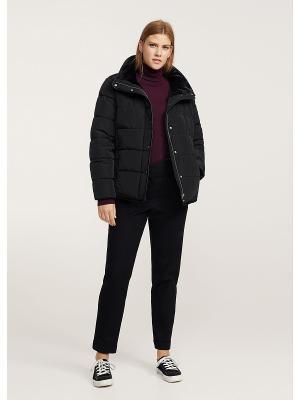 Куртка - THREAD1 Violeta by Mango. Цвет: черный