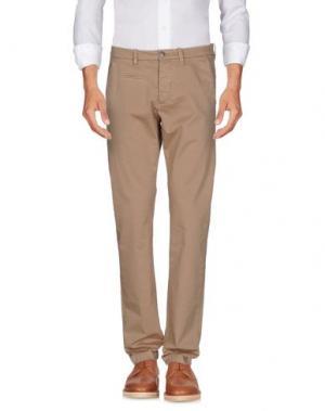 Повседневные брюки UNIFORM. Цвет: хаки