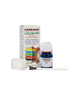 Краситель COLOR DYE, стекло TDC01, 25мл. (017 ТЕМНО-СИНИЙ) Tarrago. Цвет: темно-синий