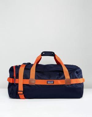 Patagonia Сине-красная сумка дафл Arbor. Цвет: темно-синий