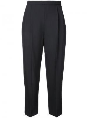 Классические брюки Delpozo. Цвет: синий
