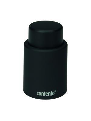 Вакуумная пробка для вина Lex Contento. Цвет: черный
