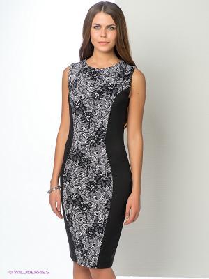 Платье ELENA FEDEL. Цвет: черный, белый