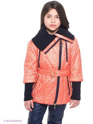 Куртка MES AMI. Цвет: оранжевый, темно-синий