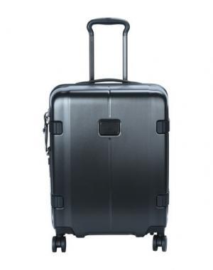 Чемодан/сумка на колесиках TUMI. Цвет: свинцово-серый