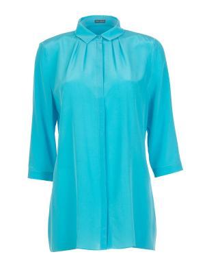 Блуза Iris v Arnim. Цвет: голубой