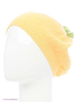 Шапка Briollini. Цвет: желтый