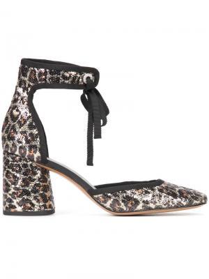 Туфли-лодочки Elle Marc Jacobs. Цвет: телесный
