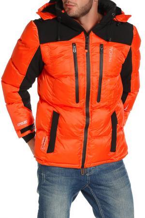 Куртка Geographical norway. Цвет: оранжевый