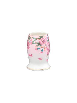Вазочка под зубочистки Сакура Elan Gallery. Цвет: розовый