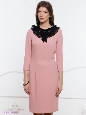 Платье Festival. Цвет: бледно-розовый