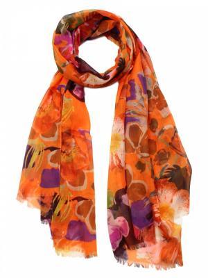 Палантин Venera. Цвет: терракотовый, оранжевый