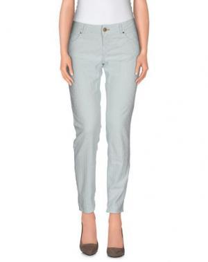 Повседневные брюки MAISON CLOCHARD. Цвет: небесно-голубой