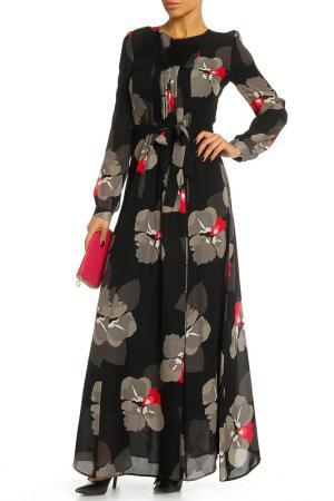 Платье P.A.R.O.S.H.. Цвет: черный