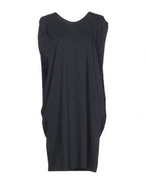 Платье до колена MA'RY'YA. Цвет: стальной серый