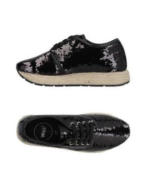 Обувь на шнурках WOZ?. Цвет: черный