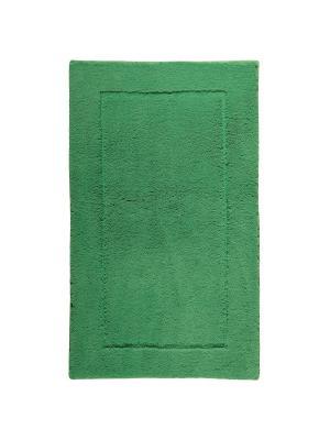 Коврик для ванной ACCENT 60x100 Aquanova. Цвет: зеленый