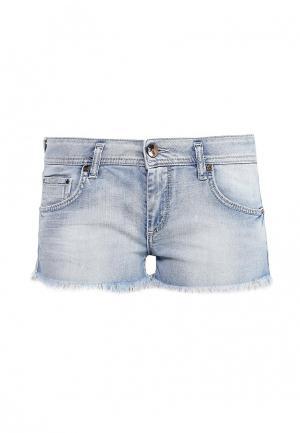 Шорты джинсовые Gas. Цвет: голубой