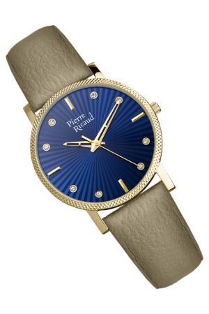 Наручные часы PIERRE RICAUD. Цвет: желтый, серый