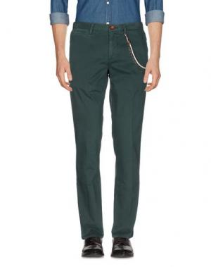 Повседневные брюки WEB. Цвет: зеленый