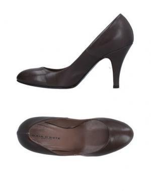 Туфли GAIA D'ESTE. Цвет: свинцово-серый