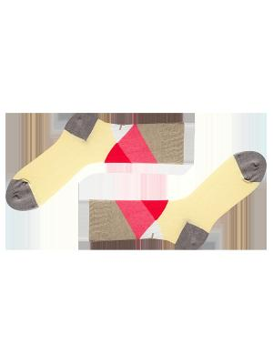 Носки Sammy Icon. Цвет: светло-бежевый, красный
