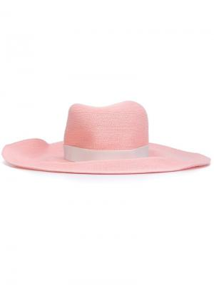 Шляпа  Webster x Ritz Gigi Burris Millinery. Цвет: розовый и фиолетовый
