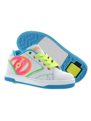 Роликовые кроссовки Propel 2.0 Heelys. Цвет: белый, голубой