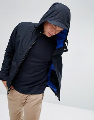 Penfield Черная непромокаемая куртка с капюшоном Becket. Цвет: черный