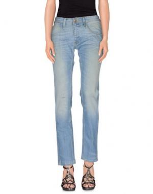 Джинсовые брюки 55DSL. Цвет: синий