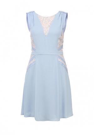 Платье French Connection. Цвет: голубой